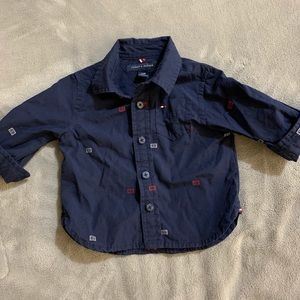 3-6M Tommy Hilfiger Button Down